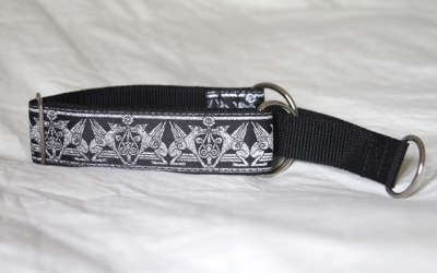 Martingale (small) - silver mythical beast (D15S)