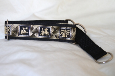 Martingale (small) - silver gold dragon (D22S)