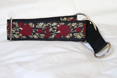 Martingale (small) - red gold rose (D23S)