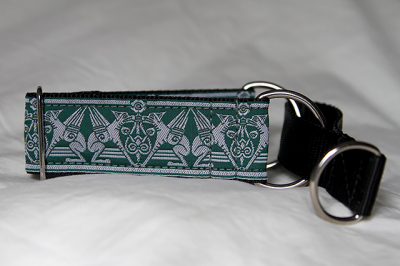 Martingale (small) -  green hound (D49S)