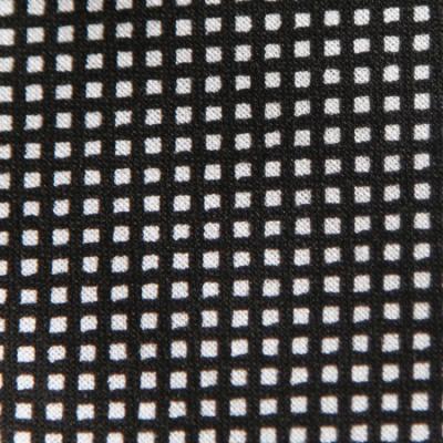Medium - Black/White Small Squares Bandana