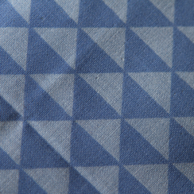 Medium - Blue Triangles Bandana
