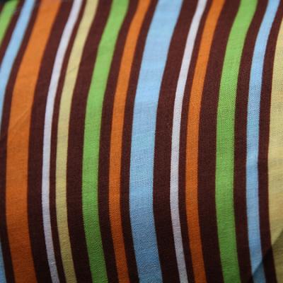 Multi Size - Brown Multi Striped Bandana