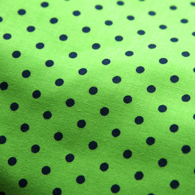 Multi Size - Lime Green Dotty Bandana