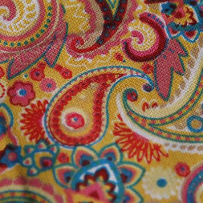Medium - Multicolour Paisley Bandana