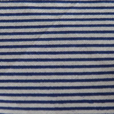 Medium - Navy/White Stripe Bandana