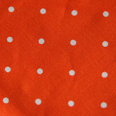 Medium - Orange Dot Bandana