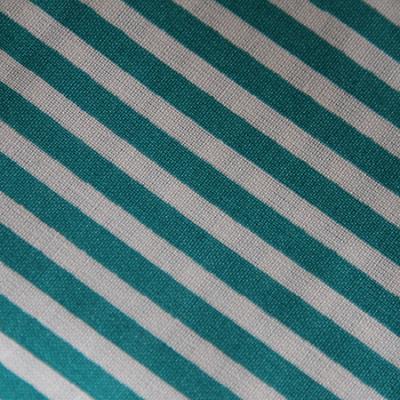 Medium - Turquoise/White Stripe Bandana