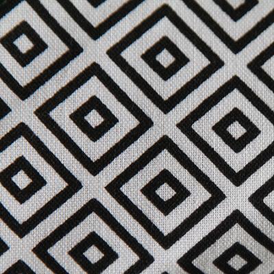 Medium - Black Squares Bandana