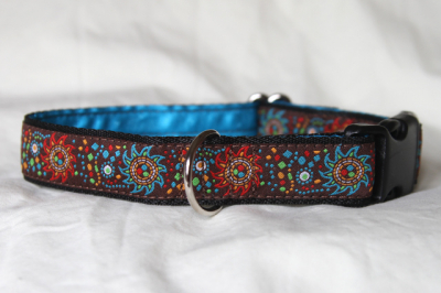 Luxury clip collar - festival (DH24)