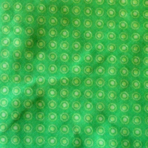 Green Dots Bandana