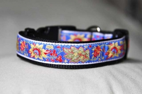Clip Collar - Flowers/Leaves (H05)