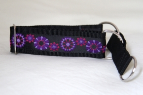 Martingale (small) - pink purple floral (D13S)