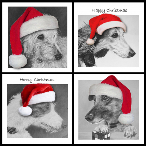 Christmas Cards - Pack of 8 (125mm square)