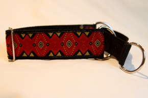 Martingale (small) - red/yellow abstract (D34S)