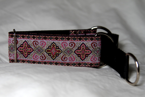 Martingale (small) -  pink and gold tapestry (D46S)