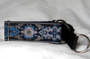 Martingale (small) - silver & light blue regal (D50S)