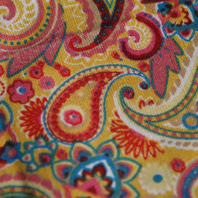 Medium - Multicolour Paisley Bandana