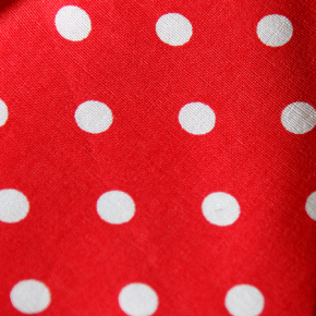 Multi Size -  Red Polka Dot Bandana