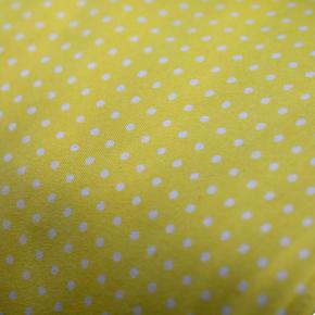 Small - Yellow with White Dots Bandana