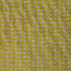 Medium - Yellow/White Small Squares Bandana