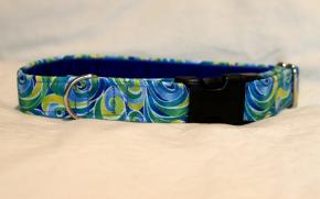 Luxury clip collar - zest swirl (DH13)