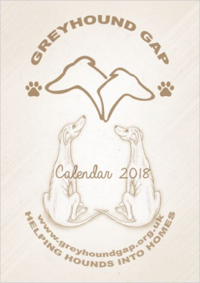 Cartoon Hound Calendar 2018