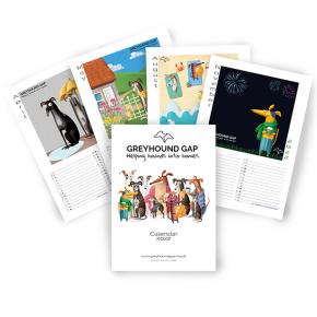 Greyhound Gap Calendar 2022